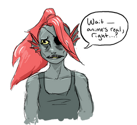 UNDERTALE - Undyne by Gilokee