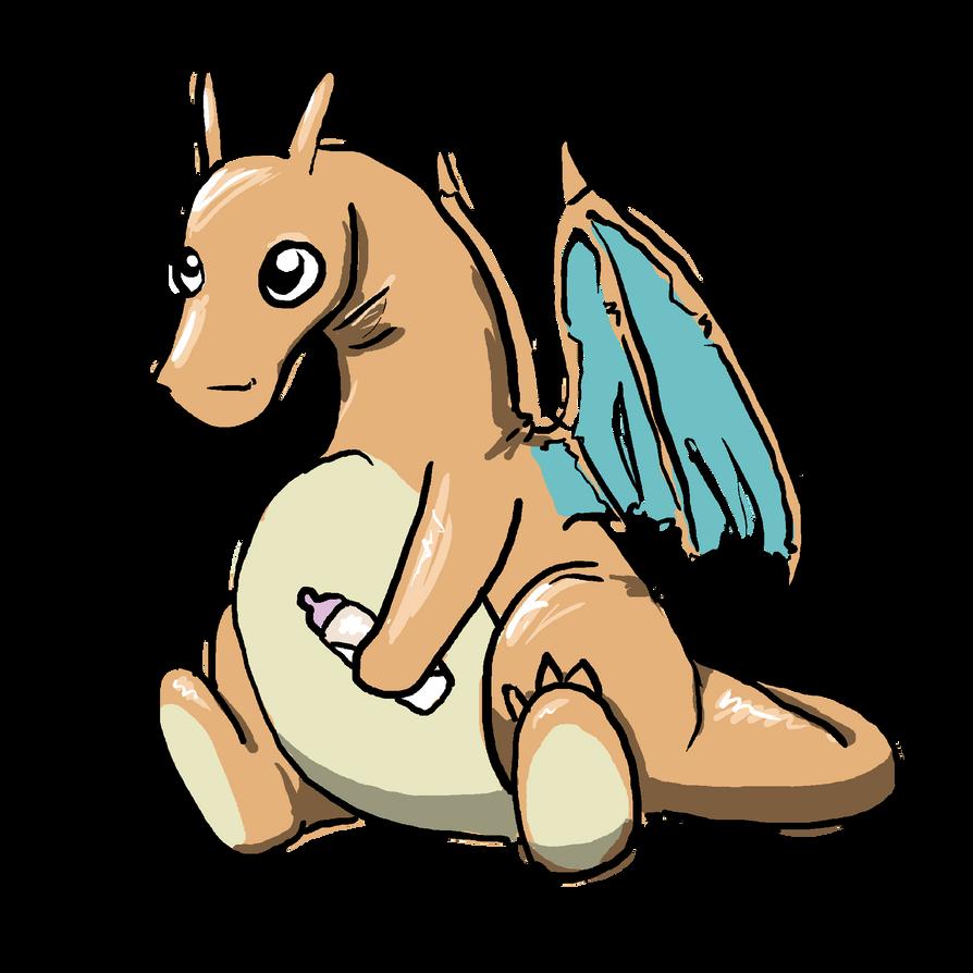 baby charizard by Gilokee