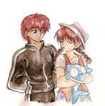 Rinne and Sakura's Date