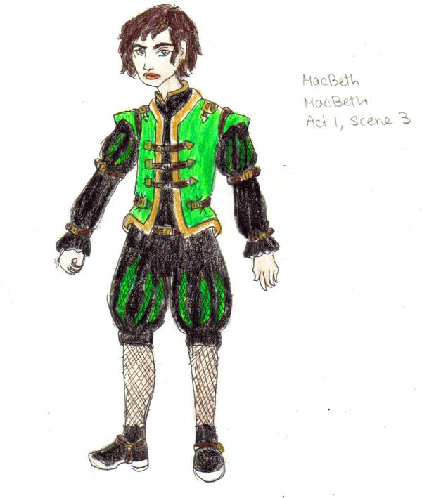 Character Analysis For Costume Design : Macbeth costume design by admiralcookie on deviantart
