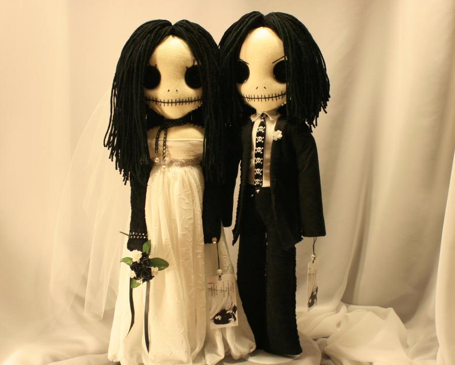 Calavera Bride and Groom by Zosomoto