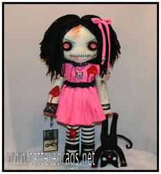 Zombie rag doll by Zosomoto