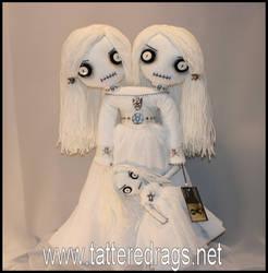 Siamese twin ghost doll by Zosomoto