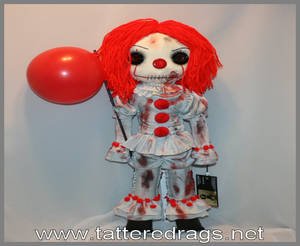 pennywise inspired doll
