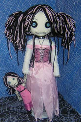 Pink Ratty Rag Dolls