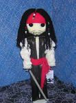 Jack Sparrow Rag Doll