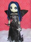 Goth Fairy Rag Doll