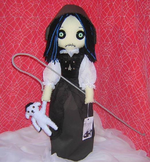 Little Bo Peep Rag Doll by Zosomoto