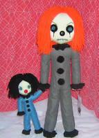 Evil Clowns by Zosomoto