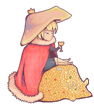 Mushroom King by Spaz513