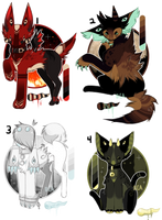 - It's Spoopy time Eyelissies (CS) Auction - by BleedingColorAdopts
