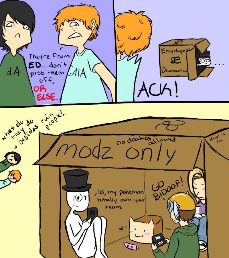 What Really Happens On ED by DjinnMei