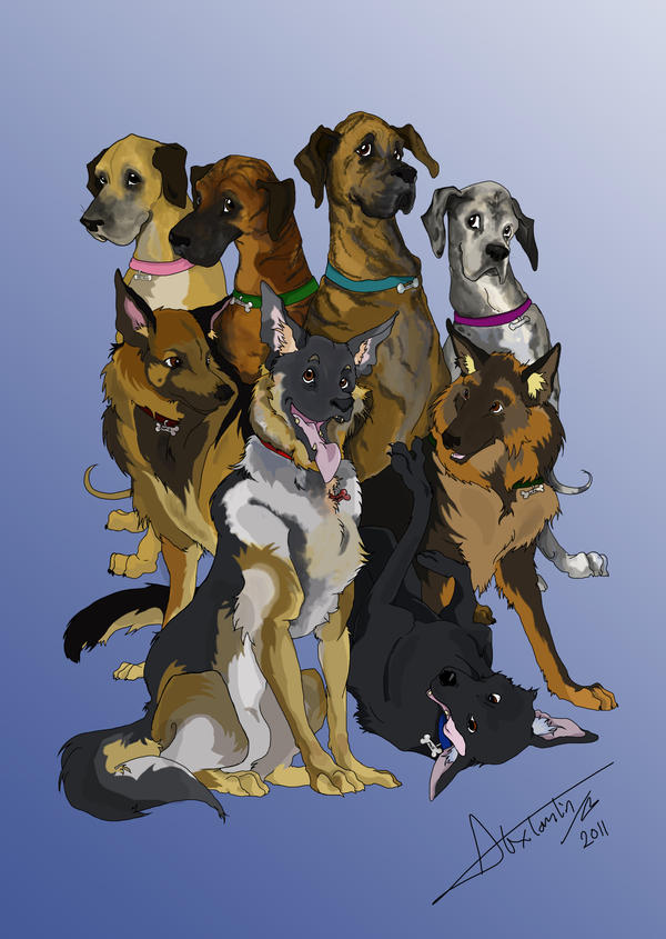 All Dogs go to Heaven by TheMushman on DeviantArt