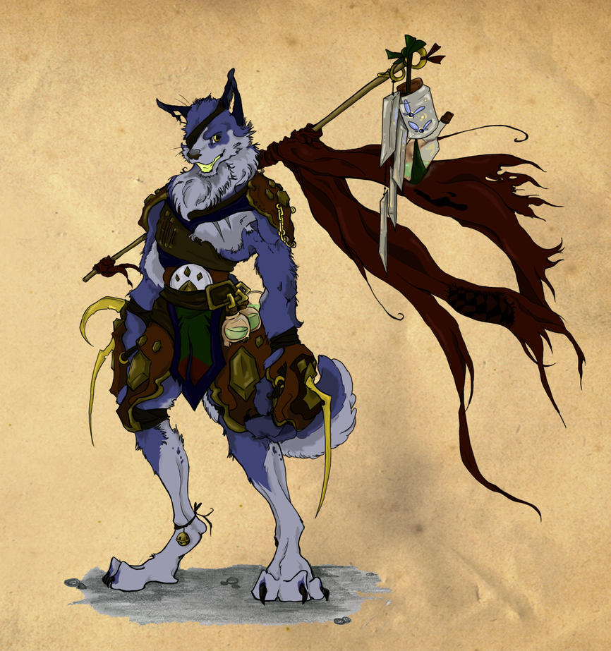 DogWarrior Hero by TheMushman