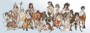 Centaur Herd!