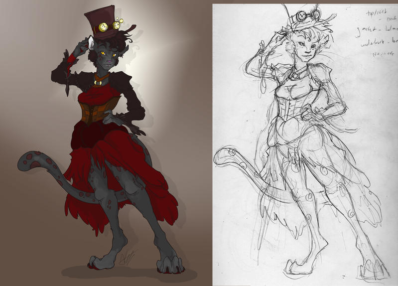 Steampunk Storm WIP by TheMushman