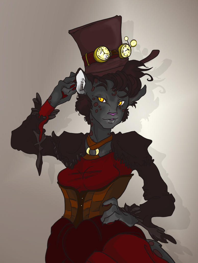 Steampunk Storm WIP 2 by TheMushman