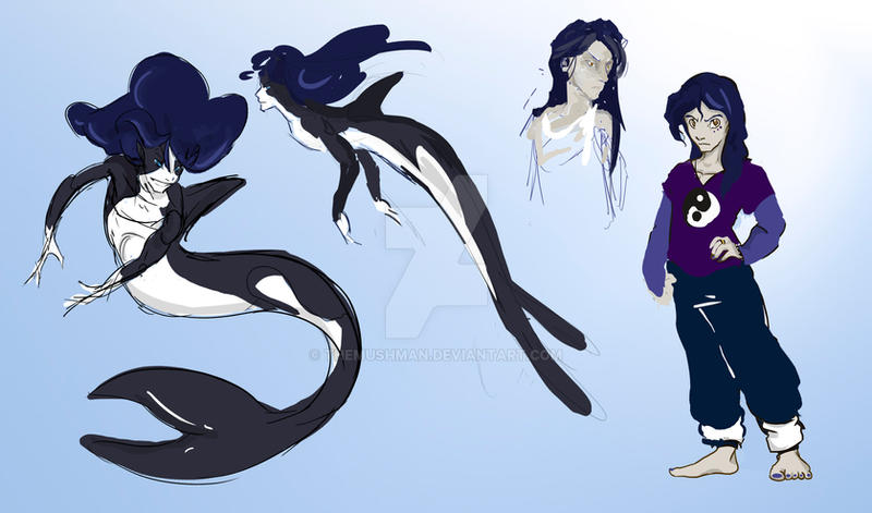 Mermaid Concepts by TheMushman