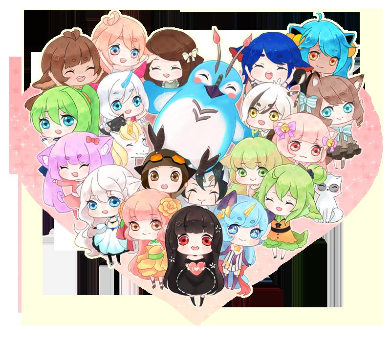 Friends! by Moochirin
