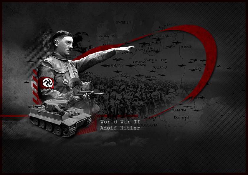 Adolf Hitler by hakeryk2