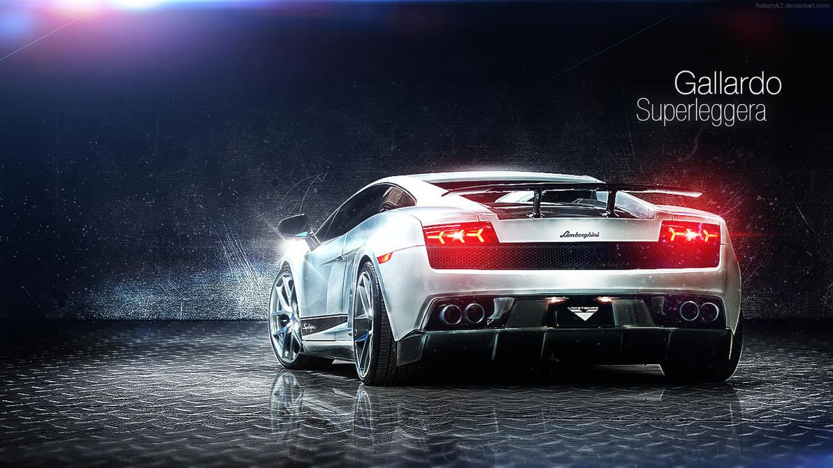 lamborghini gallardo superleggera wallpaper by hakeryk2