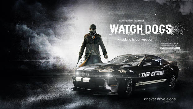 The Crew and Watch Dogs Wallpaper