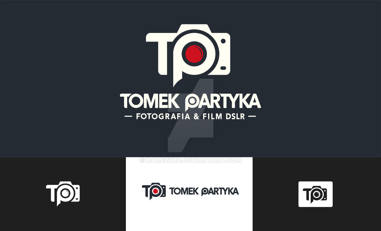 Tomek Partyka Logo Photography by hakeryk2