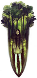 Lady of the forest by Digi-M