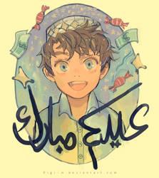 Happy Eid :D by Digi-M