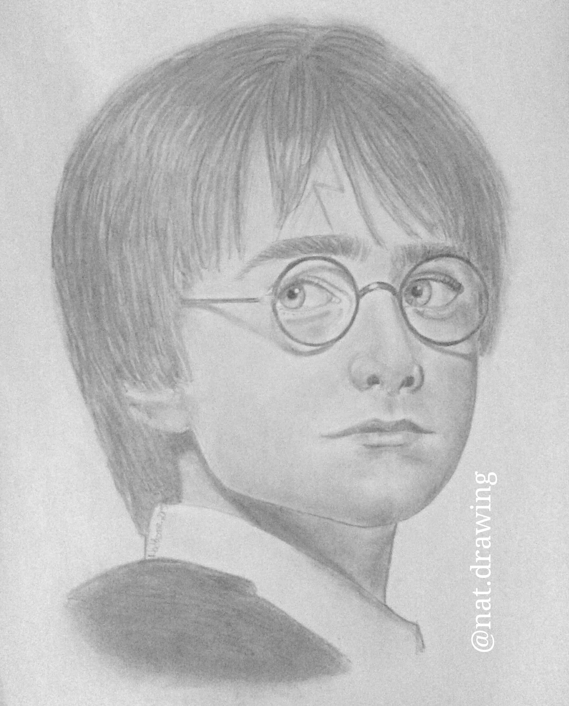 Harry Potter By Nat-drawing On DeviantArt