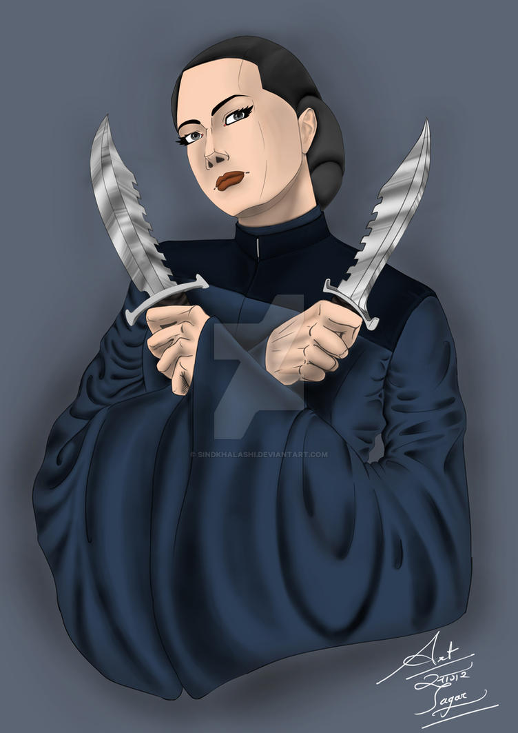 Knife Girl !! by SindKhalashi