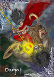 Durga! Slayer of Mahishasur!