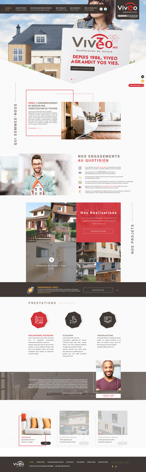 Espace VIVEO - Official Webdesign by ShinDatenshi