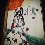 autumn bride by Blackcatshadow234