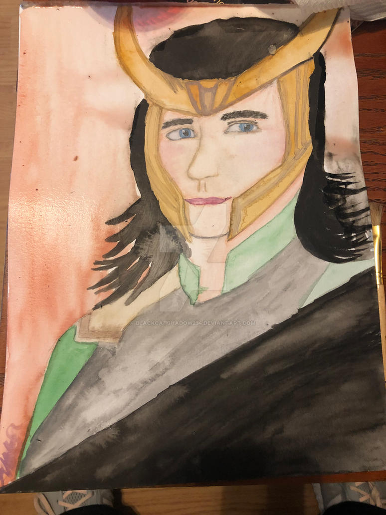 Loki, the mysterious one by Blackcatshadow234