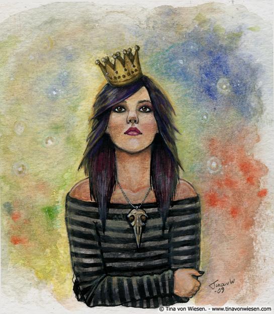 Golden crown by wasteddreams