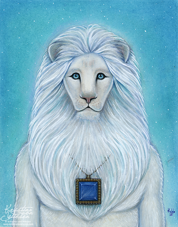 White Lion Guide by wasteddreams