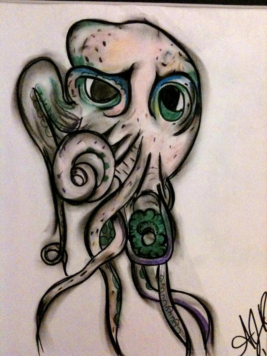Octopus john frusciante tattoo Blood Sugar