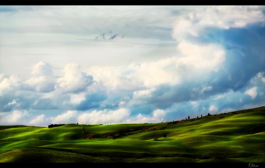 Tuscany Spring by RobinHalioua