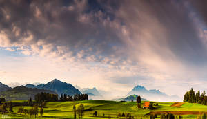 Autumn Fields by RobinHalioua
