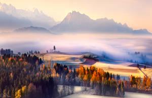 Autumn Morning by RobinHalioua