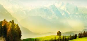 Autumn in Switzerland by RobinHalioua