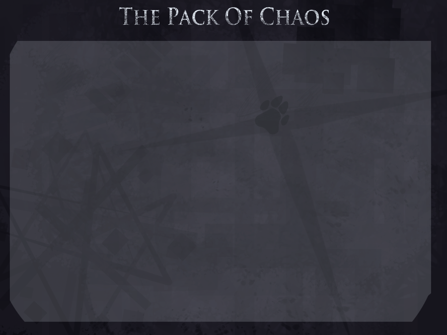 C M R P Chaos Pack Template by LadyLirriea