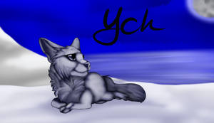 [Ych] Snowy Sanctuary - $15 - Open - by LadyLirriea