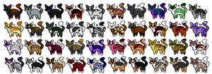 Adopts:Tiny Cats- 10 Points- 15/40 Open