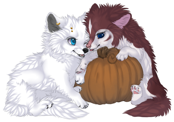 [In The Pumpkin Patch] Ych - ANIMALGIRL1869