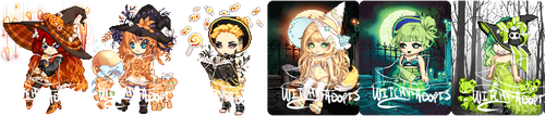 CLOSED Gaia Adopts! Rainbow Witches pt 2 by Witchy-Adopts