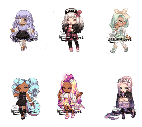 Gaia Adopts [OTA] Mixed (OPEN 5/6) by Witchy-Adopts