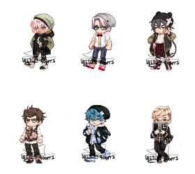 Gaia Adopts [OTA] Cute Boys (1/6 OPEN) by Witchy-Adopts