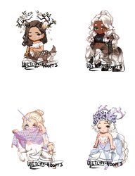 Gaia Adopts [OTA] Centaur Girls (1 LEFT by Witchy-Adopts